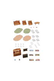 Calico Critters Comfy Living Room Set - Front cropped