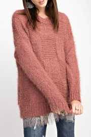 easel Comfy Mohair Sweater - Product Mini Image