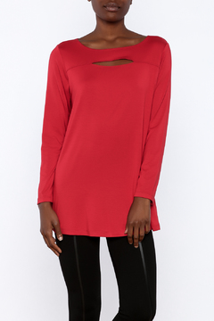 Shoptiques Product: Red Flirty Top