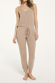 z supply Comfy Ribbed Jumpsuit - Front cropped