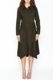Comfy Shirt Dress - Front full body