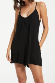 z supply Comfy Shorts Romper - Product Mini Image