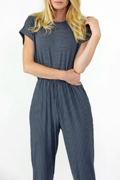 Final Touch Comfy Striped Jumpsuit - Product List Image