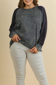 Umgee USA Comfy Style Velvet Top - Product Mini Image