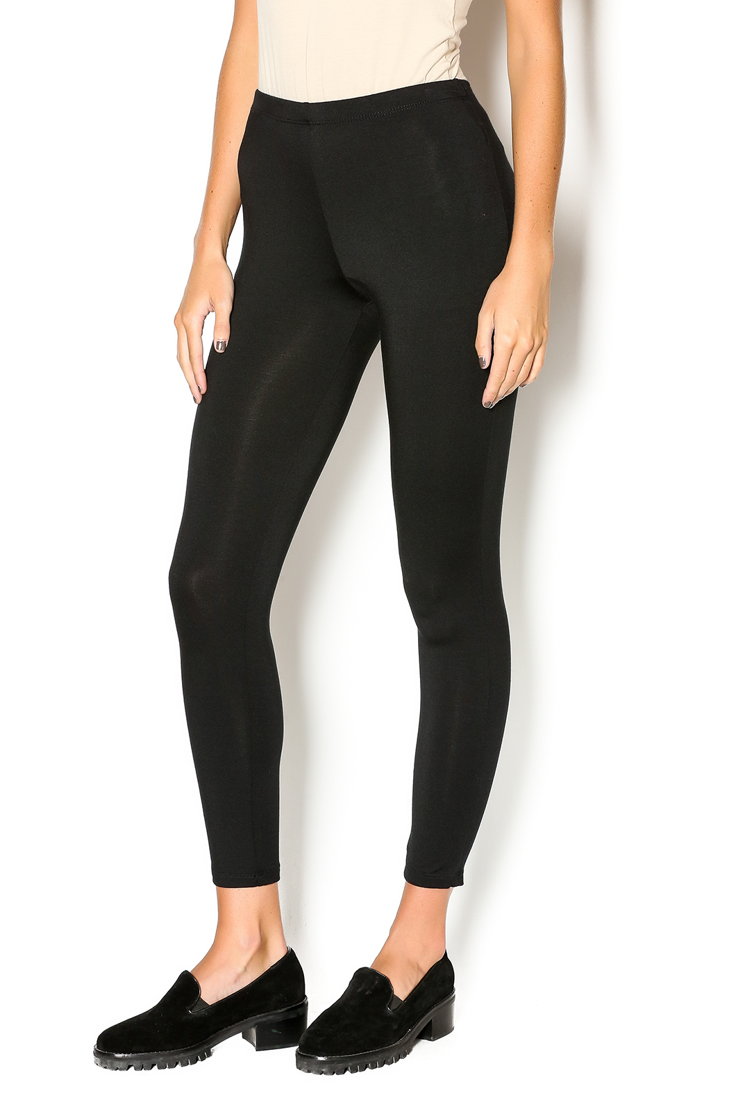 Comfy The Best Leggings - Front Cropped Image
