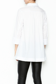Comfy USA Collared Button Up Shirt - Back cropped