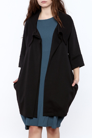 Comfy USA Collared Cape Jacket - Product Mini Image