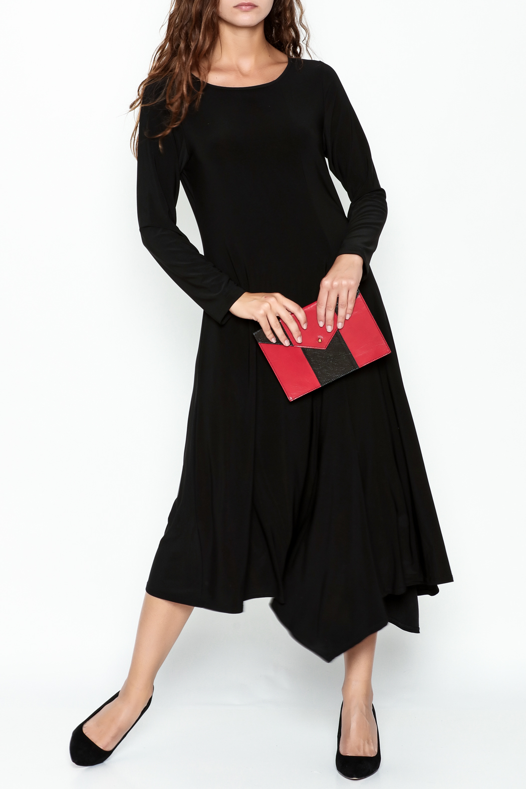 Comfy USA Eve Maxi Dress - Front Cropped Image
