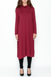 Comfy USA Red Tunic - Front full body