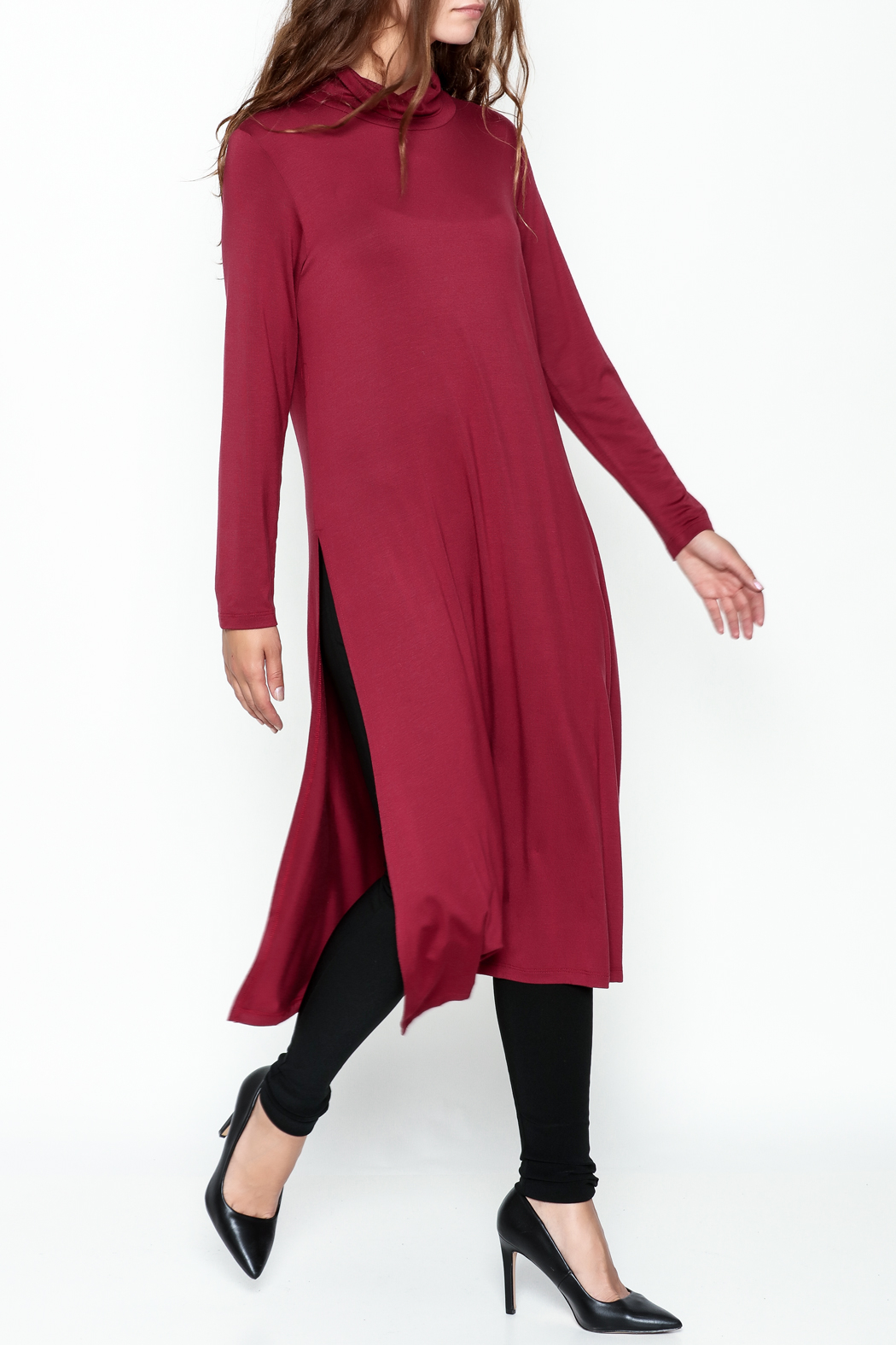 Comfy USA Red Tunic - Main Image