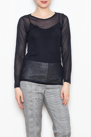 Comfy USA Sheer Mesh Top - Product Mini Image