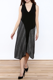 Comfy USA Tank Midi Dress - Product Mini Image
