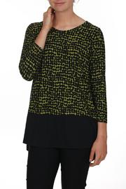 Comfy USA Dotted Green Top - Product Mini Image