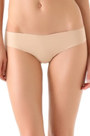 Commando Laser Cut Microfiber Thong - Front cropped