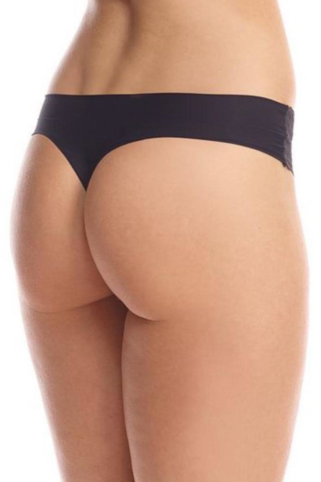 Commando Perfect-Stretch Seamless Thong - Front Full Image
