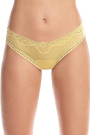 Commando Perfect-Stretch Seamless Thong - Front cropped