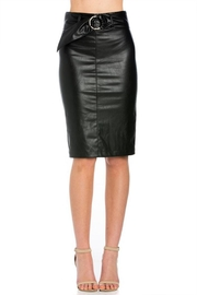 Comme Leather Pencil Skirt - Product Mini Image