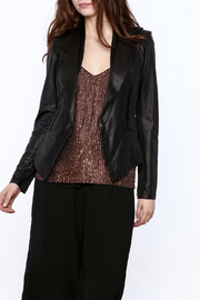 Comme Black Snake Print Jacket - Product Mini Image