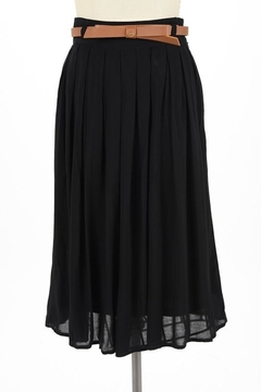 Comme Toi Favorite Black Skirt - Product List Image