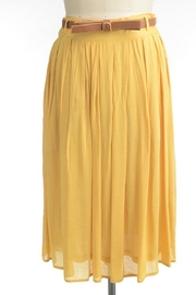 Comme Toi Favorite Mustard Skirt - Product Mini Image