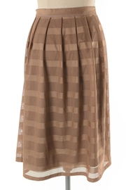 Comme Toi Mocha Coffe Skirt - Other