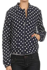 Comme Toi Polka Dot Jacket - Front cropped