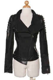 Comme USA Badass Studded-Moto Jacket - Front cropped