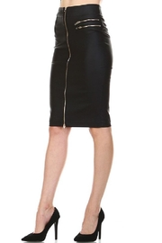 Comme USA Midi Zip Skirt - Product Mini Image