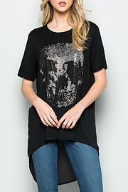 Comme USA Skull Stone Tunic - Front cropped
