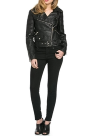 Comme USA Vegan Biker Jacket - Product Mini Image
