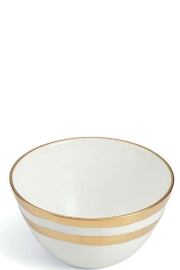 The Birds Nest COMO XS BOWL - WHITE GOLD - Front cropped