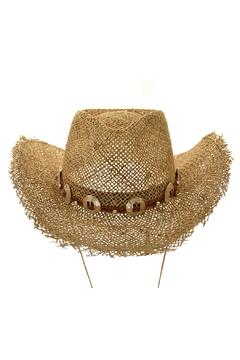 Shoptiques Product: Seagrass Cowboy Hat
