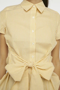 Compania Fantastica Bow Button-Up Shirt - Alternate List Image