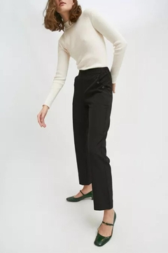 Shoptiques Product: Cropped Straight-Leg Trousers