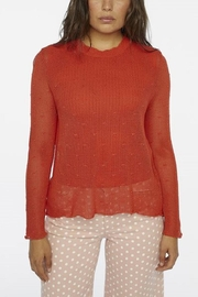 Compania Fantastica Knit Loose Top - Product Mini Image
