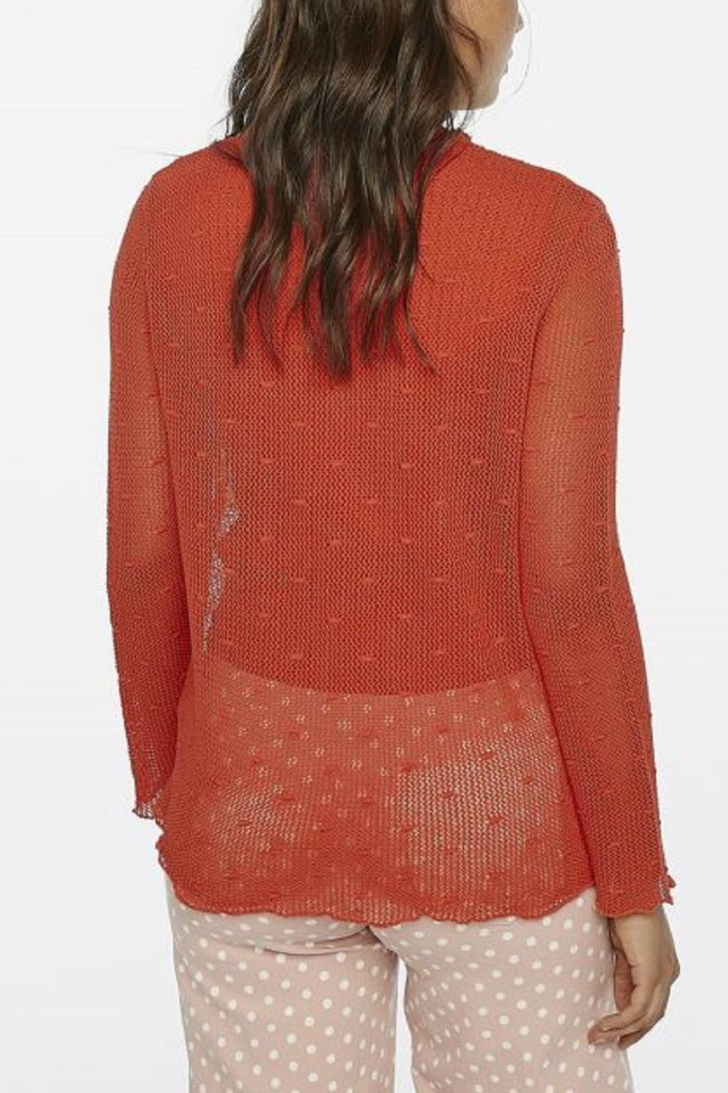 Compania Fantastica Knit Loose Top - Front Full Image