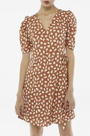 Compania Fantastica Petal Wrap Dress - Front cropped