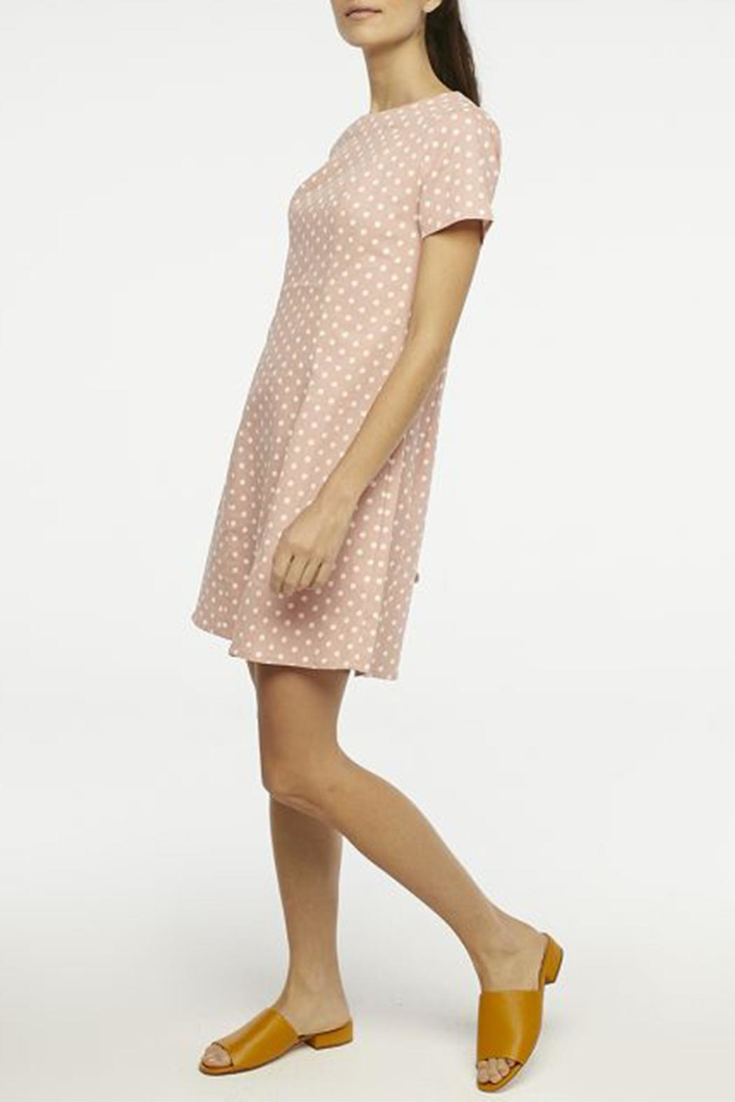 Compania Fantastica Polka Dot Dress - Side Cropped Image