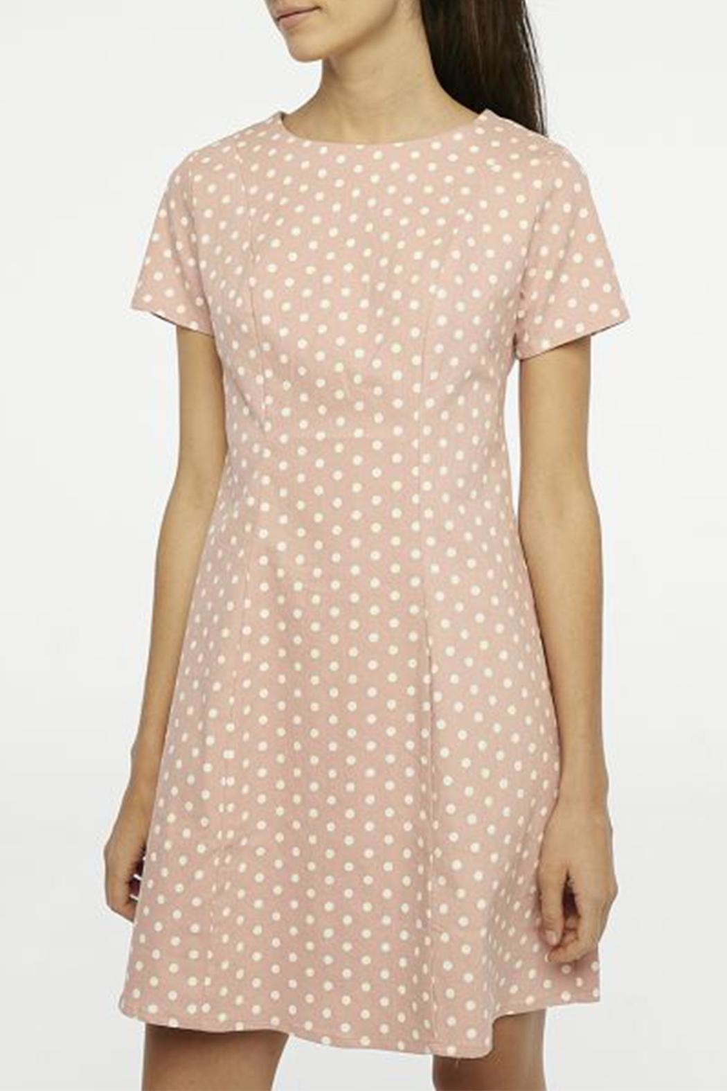 Compania Fantastica Polka Dot Dress - Front Full Image