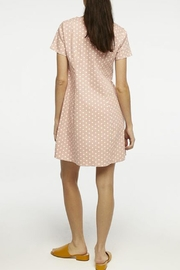 Compania Fantastica Polka Dot Dress - Back cropped