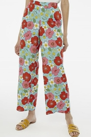 Compania Fantastica Poppy Print Trouser - Product Mini Image