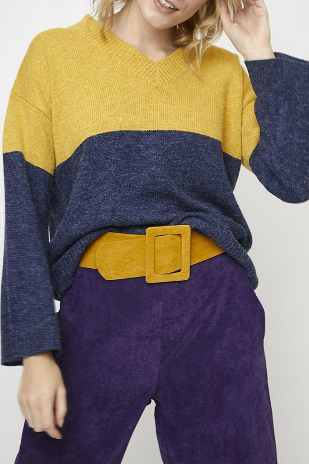 Compania Fantastica Wide Knit Jumper - Side Cropped Image