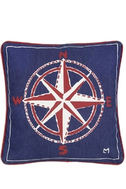 Chandler 4 Corners Compass Canvas Pillow - Product Mini Image