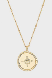 Gorjana Compass Coin Necklace - Product Mini Image