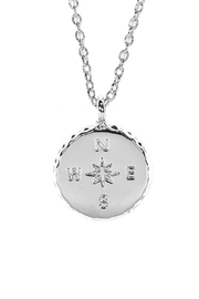 Pura Vida Compass Pendant Necklace - Product Mini Image