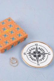 Natural Life Compass Trinket Dish - Product Mini Image