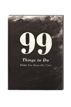 Shoptiques Product: 99 Things Book