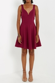 Compendium Berry Fit'n'flare Cocktail Dress - Product Mini Image