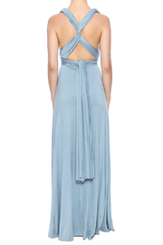 Shoptiques Product: Claire Convertible Maxi Dress - Back cropped