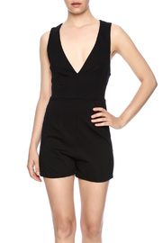 Compendium boutique Kiera Cross Back Romper - Product Mini Image
